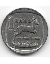 1 ранд. 1992 г. ЮАР. Спрингбок. 6-3-634