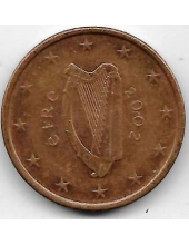 5 евроцентов. 2002 г. Ирландия. 20-4-134