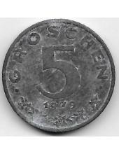 5 грошей. 1979 г. Австрия. 19-5-252