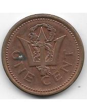1 цент. 2003 г. Барбадос. 19-5-257