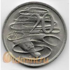 20 центов. 1975 г. Австралия. Утконос. 19-3-353