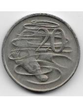 20 центов. 1978 г. Австралия. Утконос. 19-3-354