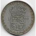 1 крона. 1965 г. Швеция. Густав VI. Серебро. 9-3-418
