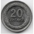 20 сентаво. 1969 г. Колумбия. Франсиско де Паула Сантандер. 19-2-387