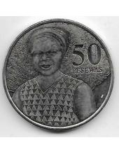 50 песева. 2007 г. Гана. Женщина. 19-2-398