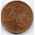 """2 евроцента. 2002 г. Германия. """"A""""."""