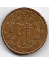 2 евроцента. 2008 г. Португалия. 20-1-126