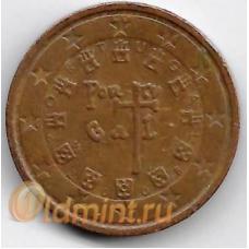 2 евроцента. 2008 г. Португалия.
