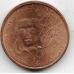 2 евроцента. 2014 г. Франция.