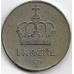 1 крона. 1976 г. Норвегия. 12-1-411