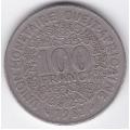 100 франков. 1982 г. Западная Африка. 7-1-209