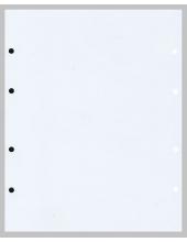 Лист промежуточный белый. 200х250 мм.