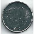 10 сентаво. 1995 г. Бразилия. F.A.O. 7-2-149