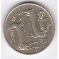 2 цента. 1994 г. Кипр. 8-4-144