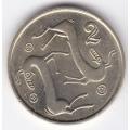 2 цента. 2003 г. Кипр. 8-4-147