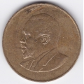 10 центов. 1966 г. Кения. Джомо Кениата. 8-4-327