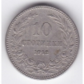 10 стотинок. 1912 г. Болгария. 8-4-365