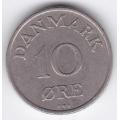 10 эре. 1949 г. Дания. 8-5-229
