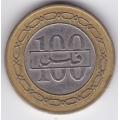 100 филсов. 1992 г. Бахрейн. 7-2-337