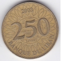 250 ливров. 2003 г. Ливан. 7-3-17
