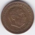 1 песета. 1963 г. Испания. Франсиско Франко. 7-3-23