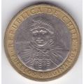 100 песо. 2006 г. Чили. 7-3-120