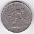1 франк. 1952 г. Люксембург. 7-3-191