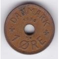 1 эре. 1936 г. Дания. 7-3-254