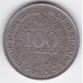 100 франков. 1969 г. Западная Африка. 7-6-239