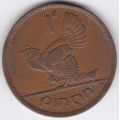 1 пенни. 1948 г. Ирландия. Домашняя курица. 7-7-25