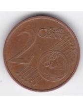 2 евроцента. 2011 г. Эстония. 19-2-148