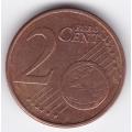2 евроцента. 2012 г. Эстония. 19-4-86