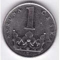 1 крона. 1994 г. Чехия. 16-1-133