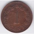 1 цент. 1972 г. Мальта. 16-1-272
