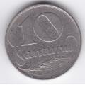 10 сантимов. 1922 г. Латвия. 16-1-357