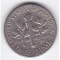 1 дайм (10 центов). 1967 г. США. 16-2-19