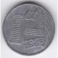 1 цент. 1943 г. Нидерланды. 16-2-471
