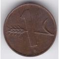 1 раппен. 1958 г. Швейцария. 16-3-55