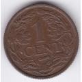 1 цент. 1941 г. Нидерланды. 16-3-296