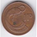 1 пенни. 1980 г. Ирландия. 16-4-203