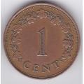 1 цент. 1977 г. Мальта. 16-2-494