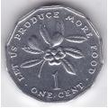 1 цент. 1990 г. Ямайка. 16-5-168