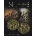 """Тетрадь """"Нумизматика. Византия, золотая монета 1028-1034 гг.""""."""