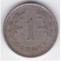1 марка. 1930 г. Финляндия. 19-3-156