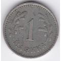 1 марка. 1930 г. Финляндия. 19-3-157
