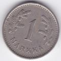 1 марка. 1937 г. Финляндия. 19-3-158