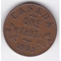 1 цент. 1932 г. Канада. 14-3-308