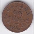 1 цент. 1932 г. Канада. 14-3-313