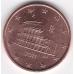 5 евроцентов. 2011 г. Италия. 7-3-475