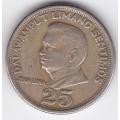 25 сентимо. 1971 г. Филиппины. Хуан Луна. 1-1-279